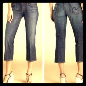 citizens of humanity kelly low waist cropped jeans